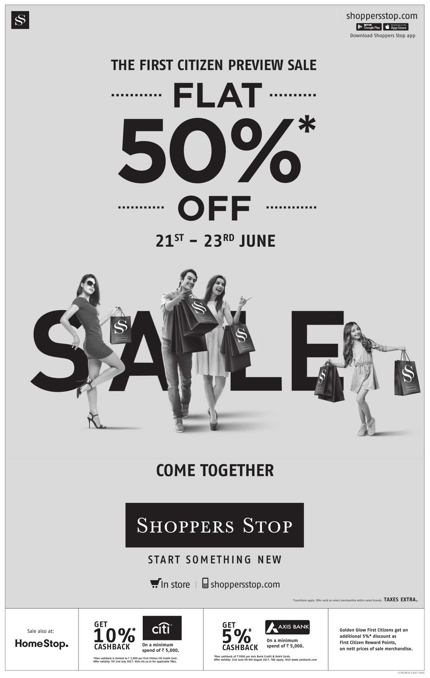 Shoppers Stop is an online retail store that sells a wide range of fashion, apparel, accessories and lifestyle products. This online portal provides customers amazing Shoppers Stop offers on the best of international, luxury, fashion and lifestyle brands and designer labels at greatly discounted prices.5/5(2).
