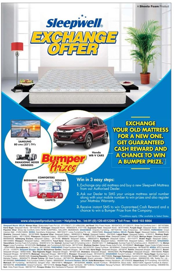 Sleepwell - Exchange Offer