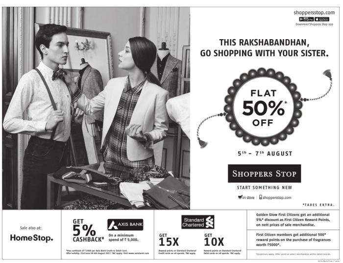 Shopper's Stop - Sale