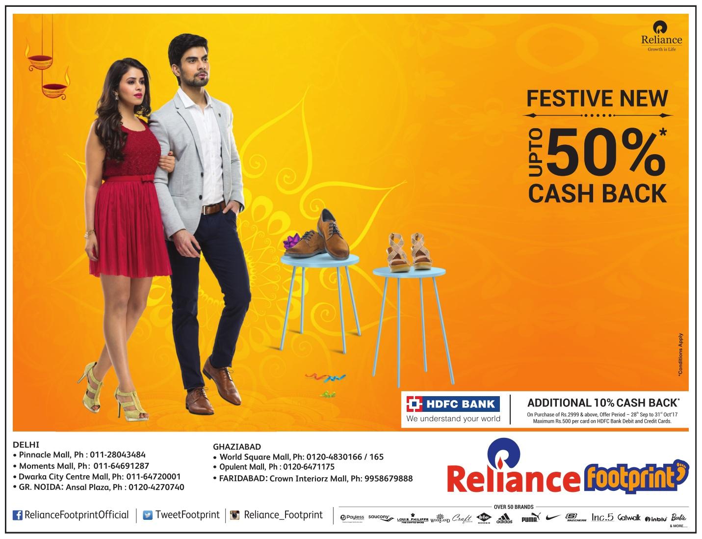 Reliance Footprint - Sale