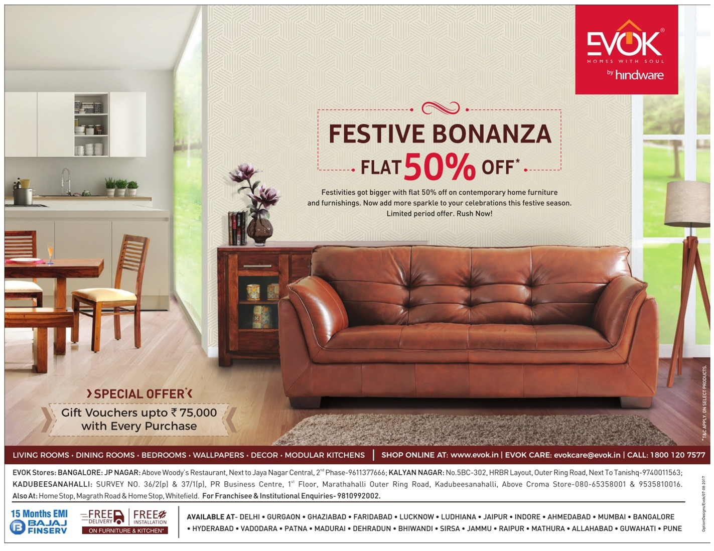 EVOK Furniture - Sale