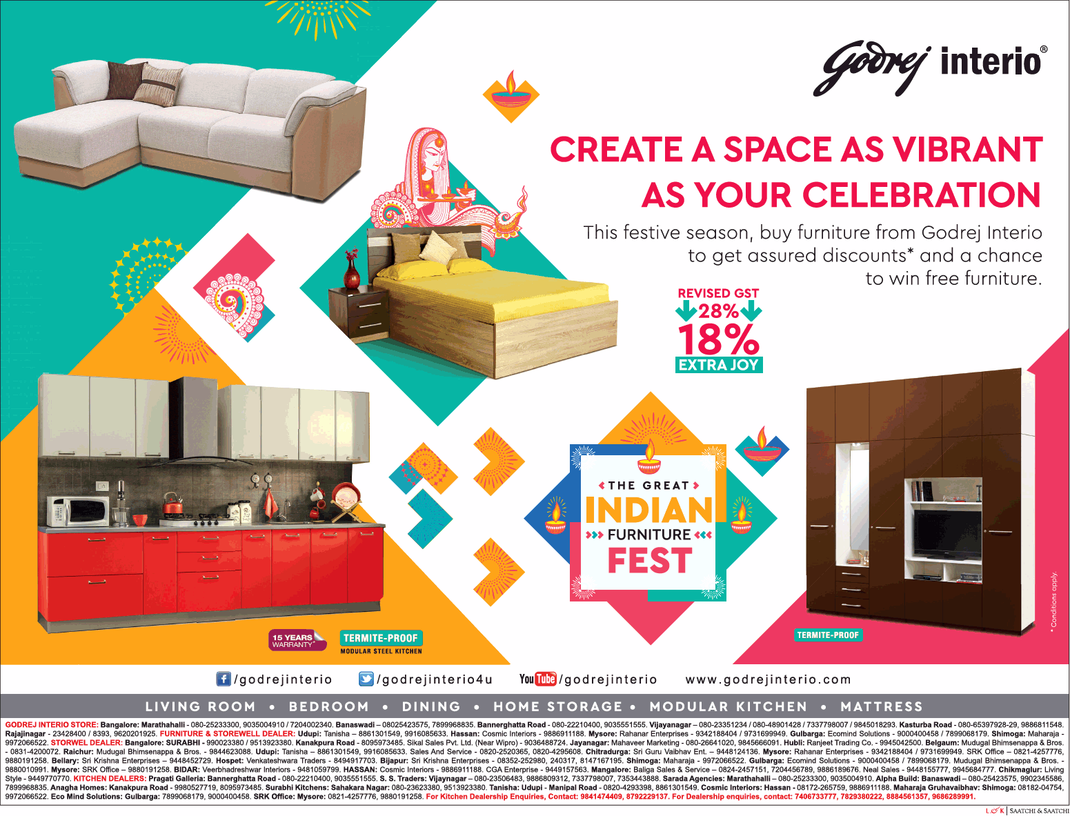 Godrej Interio Sale Bangalore Saleraja