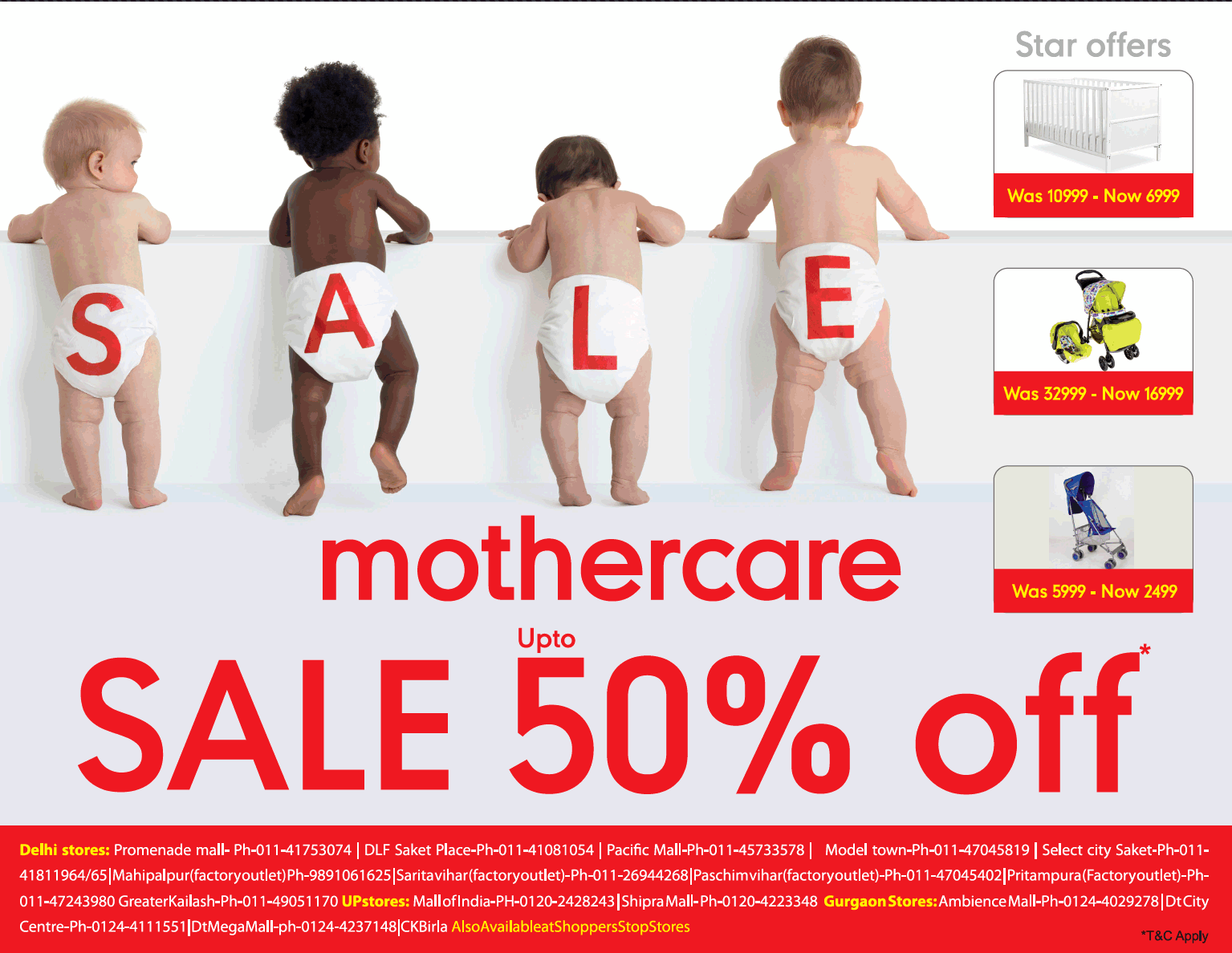MotherCare - Sale