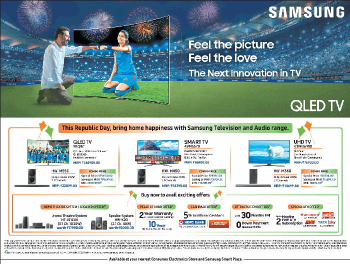 Samsung Smart TV - Amazing Offers