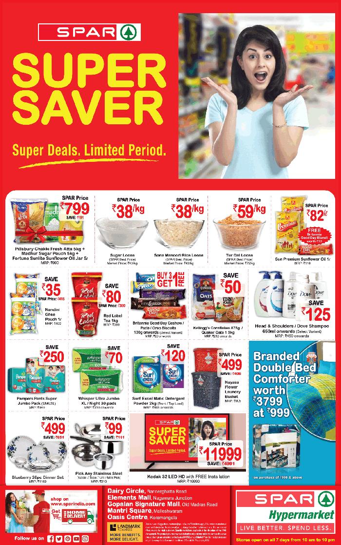 Spar Hypermarket - Sale