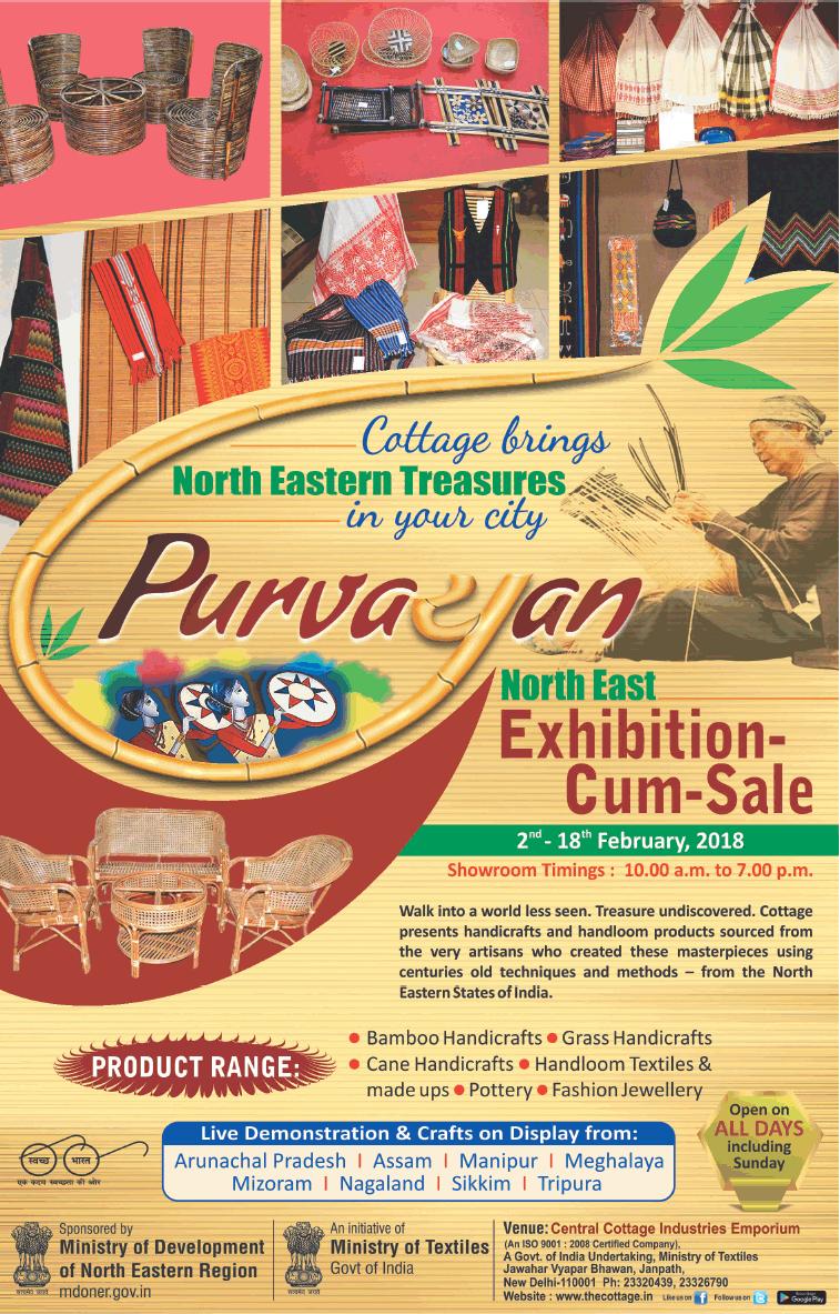 Central Cottage Industries Emporium(North East) - Exhibition cum Sale
