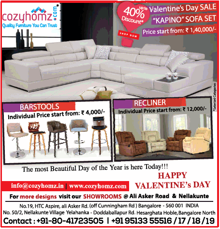 Cozyhomz Furniture - Sale
