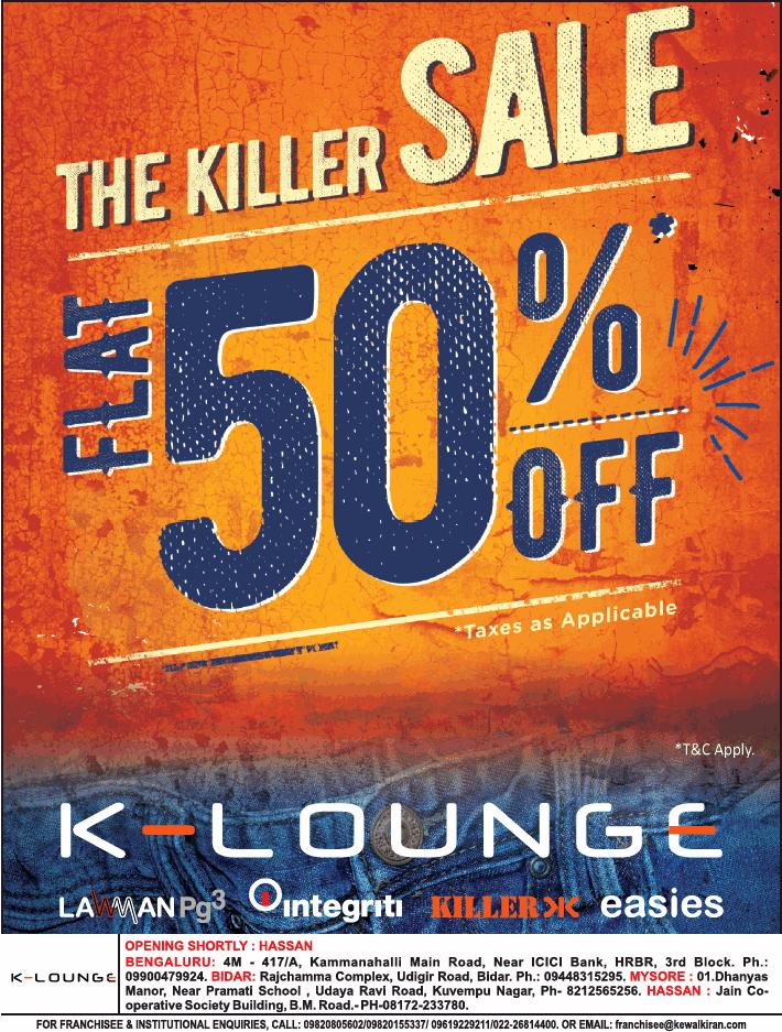 K-Lounge - Sale