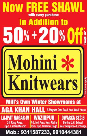 Mohini Knitwears - Sale