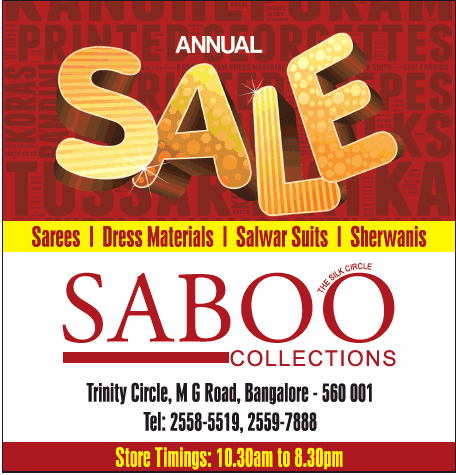 Saboo Collections - Annual SALE