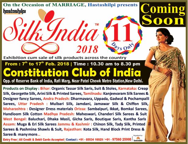 Silk India Silk - Exhibition cum Sale
