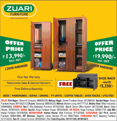 Zuari Furniture  - Exciting Offers