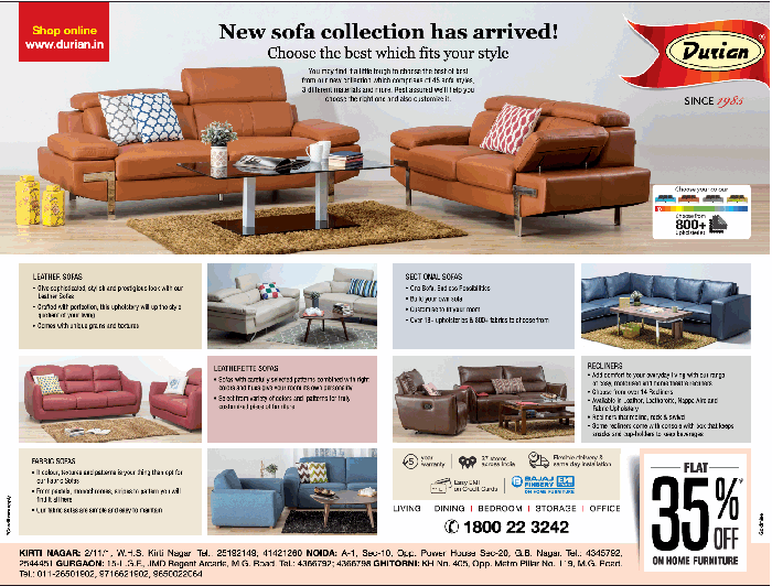 Durian Furniture - Sale