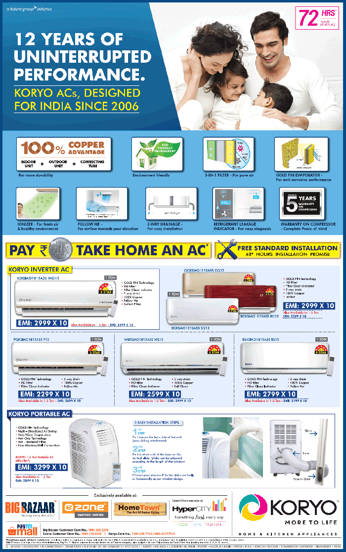 KORYO Home & Kitchen Appliances - Attractive offers