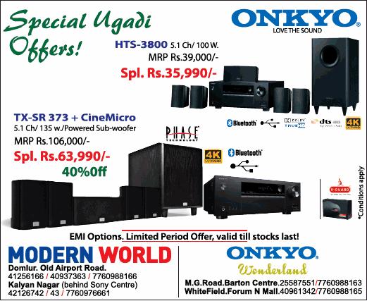 Modern World - Sale