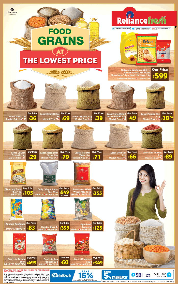 Reliance Fresh  - Exclusive Offer