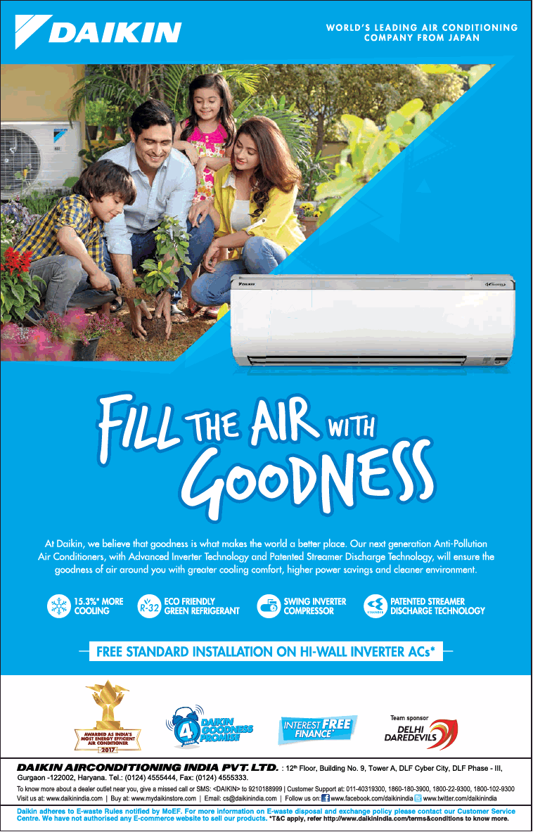 DAIKIN Air Conditioners - Attractive Offers