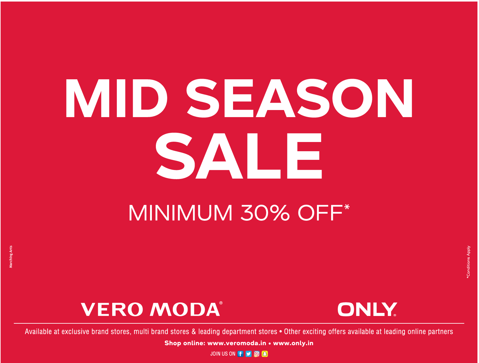 Vero Moda / Jack & Jones / Only - Sale