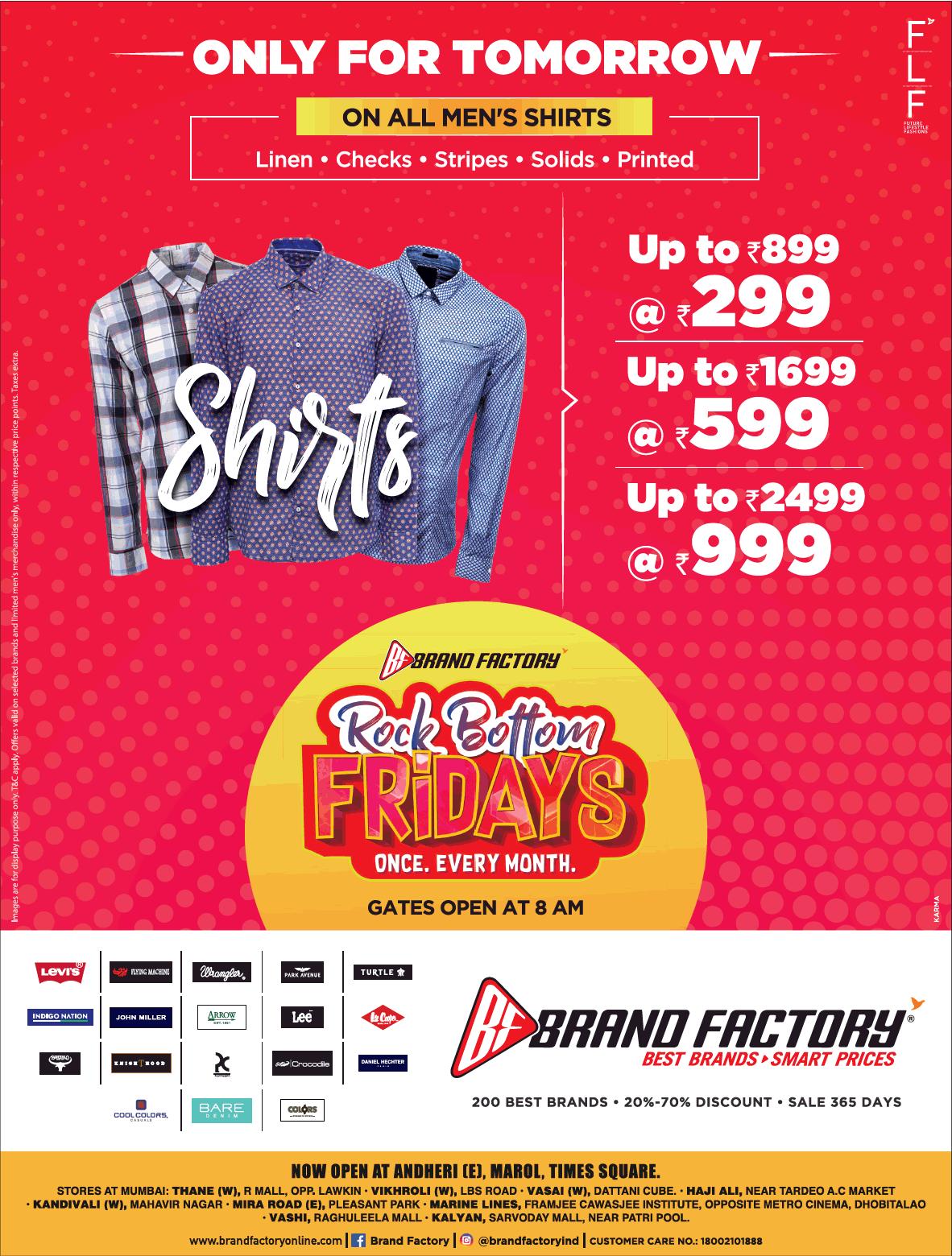 Brand Factory - Sale