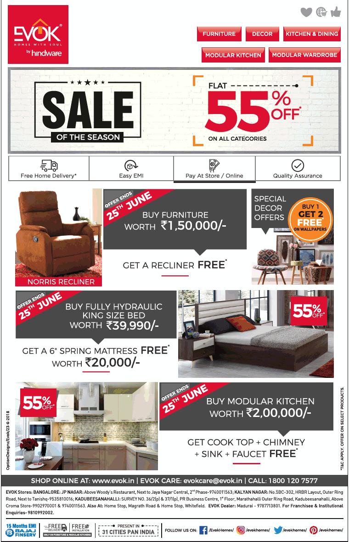 EVOK Furniture - Sale