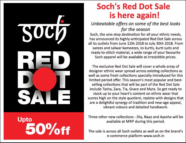 Soch - Red Dot Sale