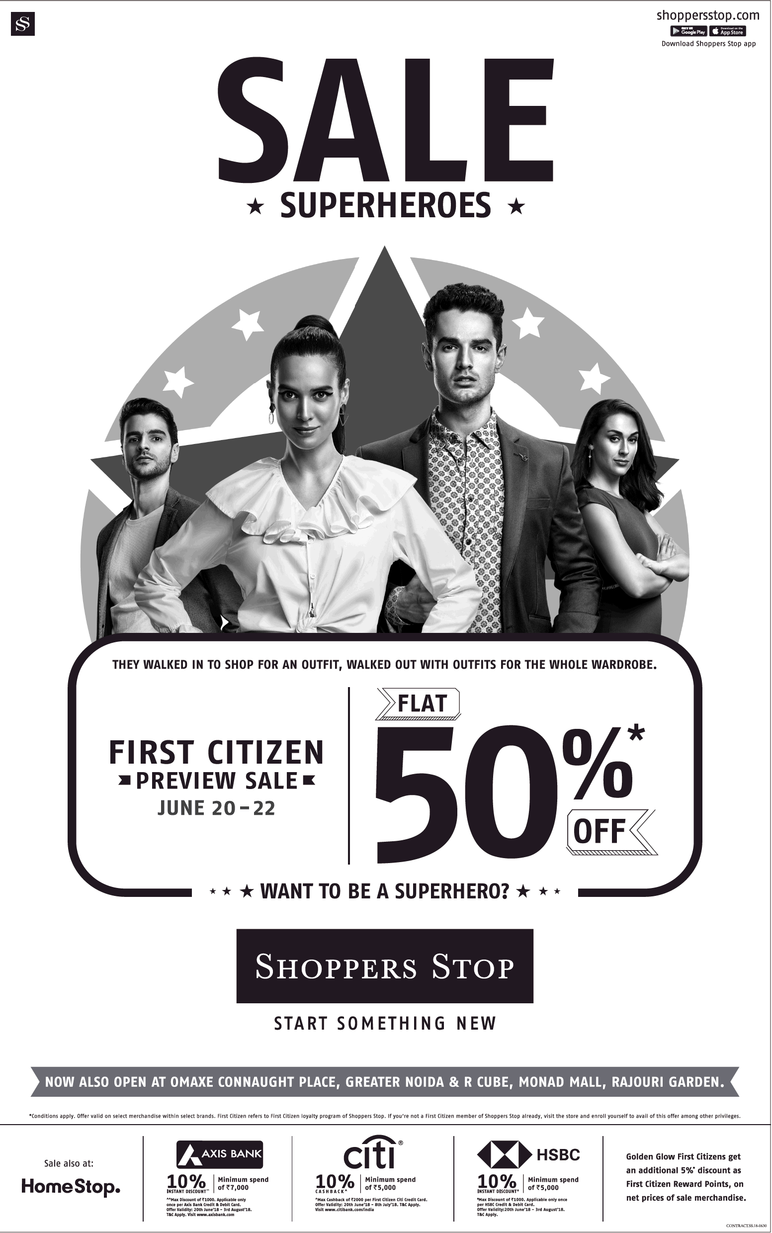 Shoppers Stop - First Citizens Preview Sale