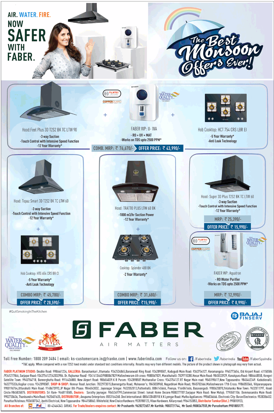 Faber Attractive Offers Bangalore Saleraja
