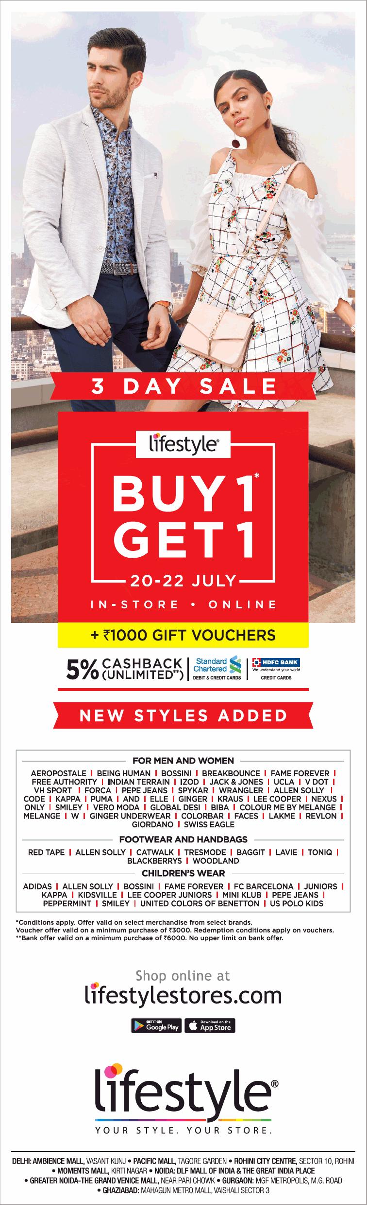 6fbbd123616 LifeStyle - Sale   Mumbai