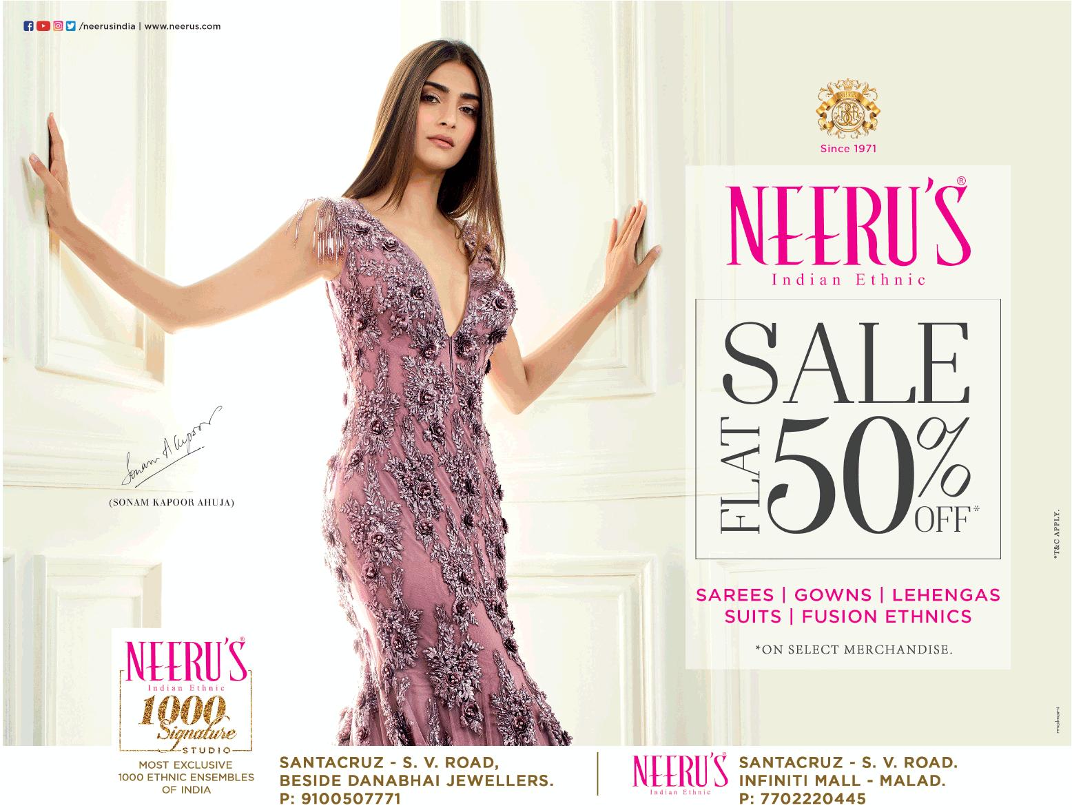 Neeru's - Sale