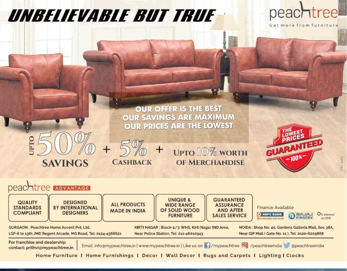 PeachTree Furniture - Sale