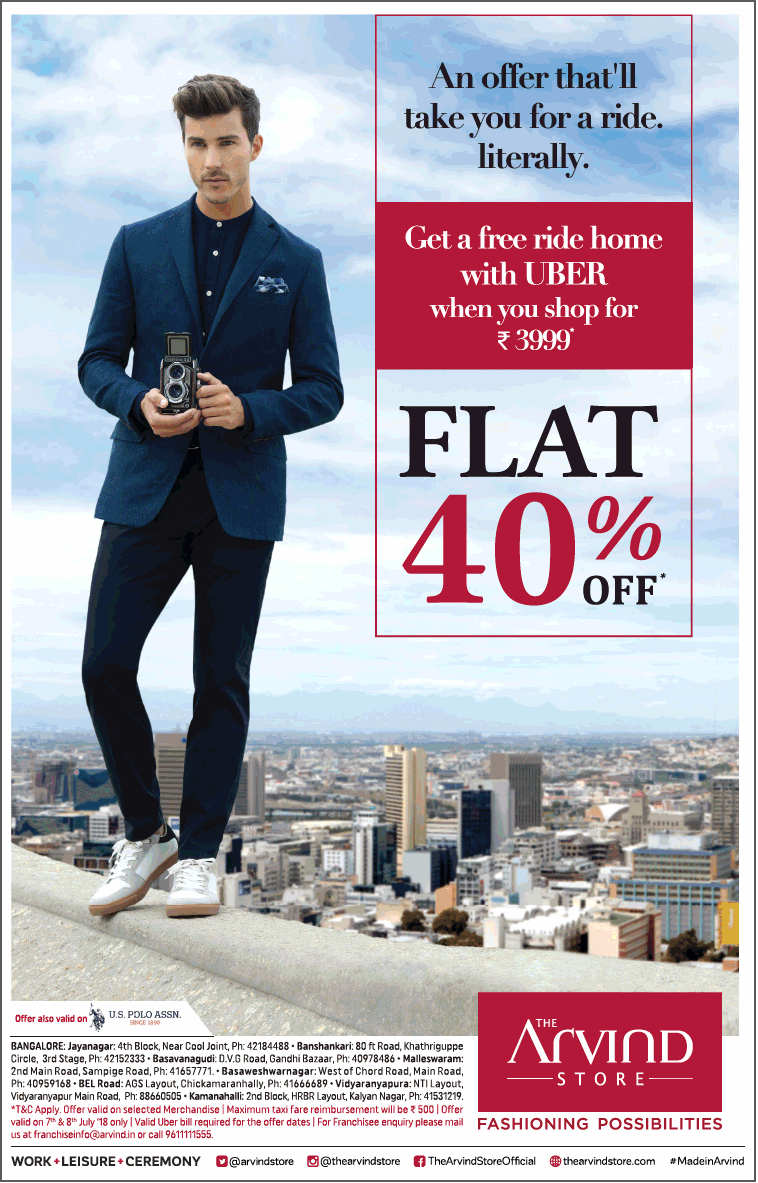 The Arvind Store - Sale