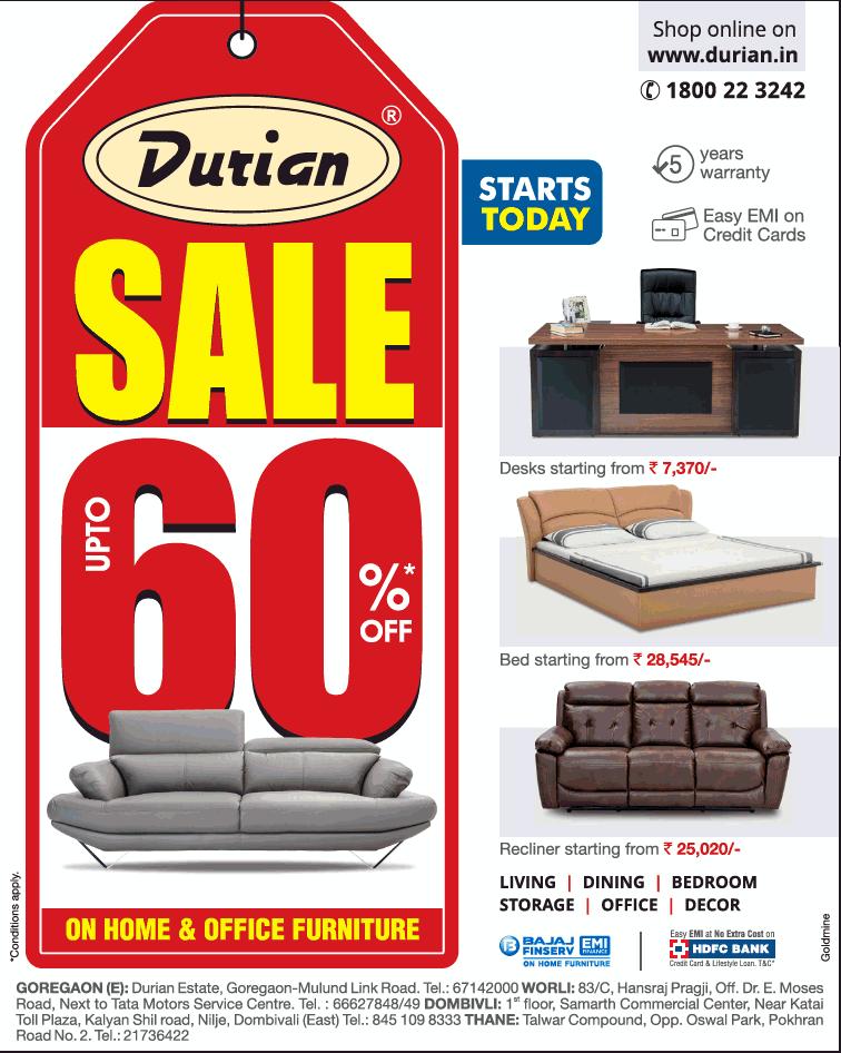 Durian Furniture   Sale
