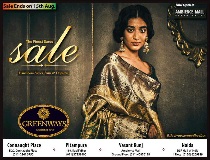 GREENWAYS (Connaught Place) - Sale