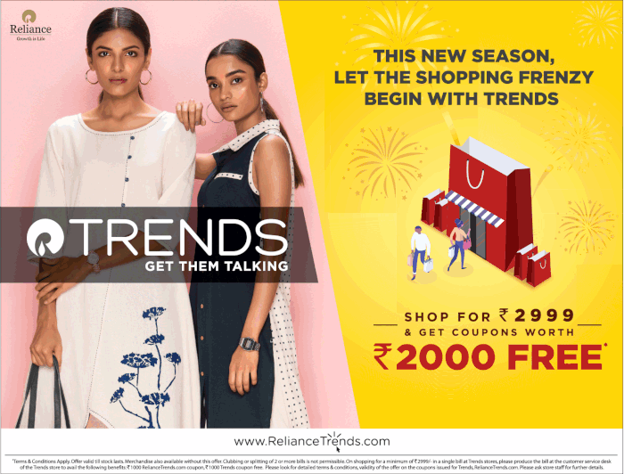 Reliance Trends - Sale